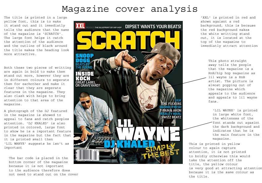 Magazine cover analysis, 3rd November, Music Magazine | Maddie's Blog: https://mfleetwoodchs.wordpress.com/2009/11/04/magazine-cover...